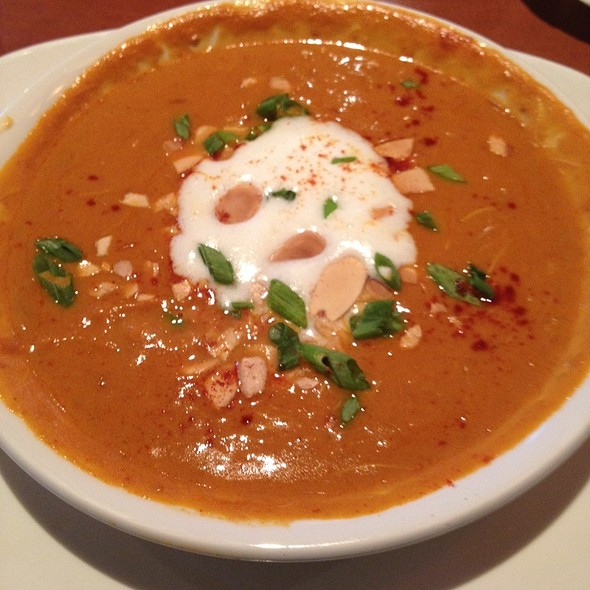 Caribbean Pumpkin Crab Bisque