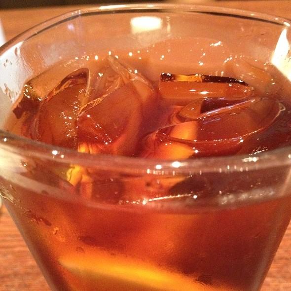 Ice Tea W/ Extra Lemon @ Osaka Pa