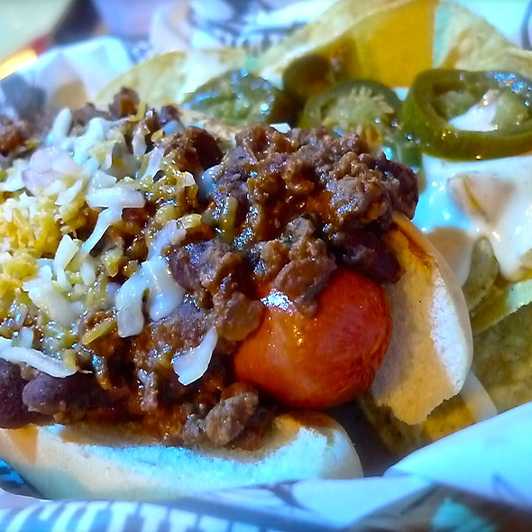 Chili Cheese Hot Dogs @ Chihuahua Mexican Grill & Margarita Bar