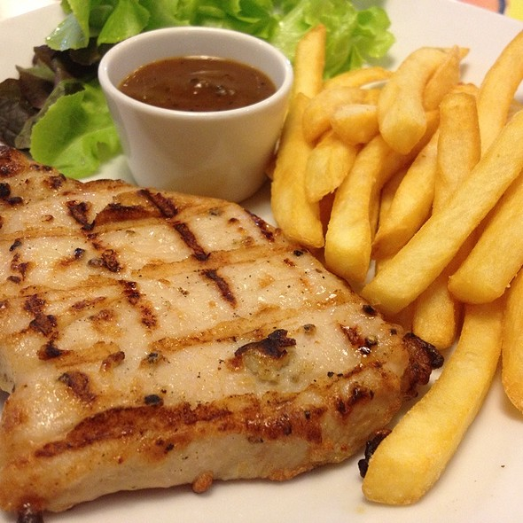 Pork Pepper Steak @ Sizzler @ Major Ratchayothin