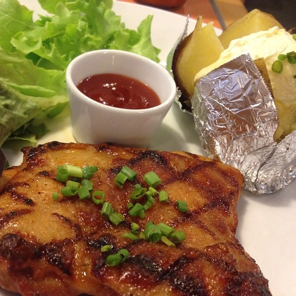 Spicy Chicken BBQ @ Sizzler @ Major Ratchayothin