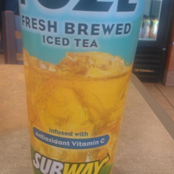 Iced tea @ Subway