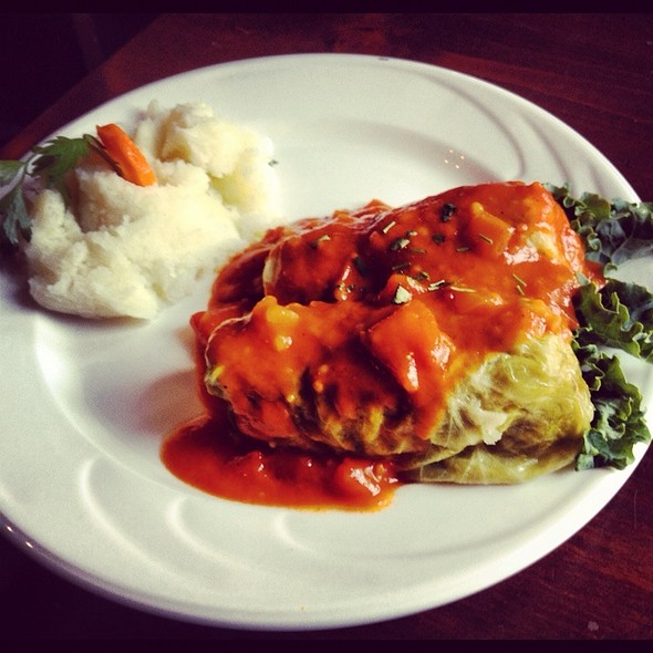 Stuffed Cabbage @ Lomzynianka Restaurant