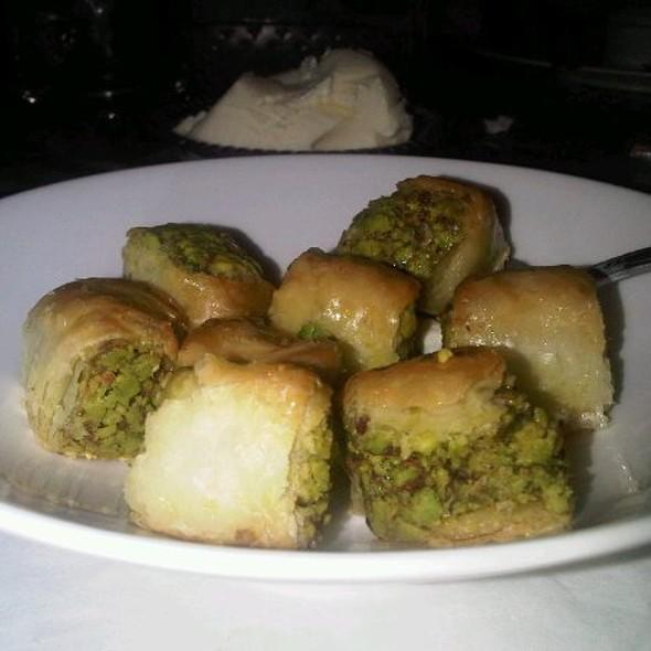 Pistachio Baklava @ Salam Cafe & Restaurant