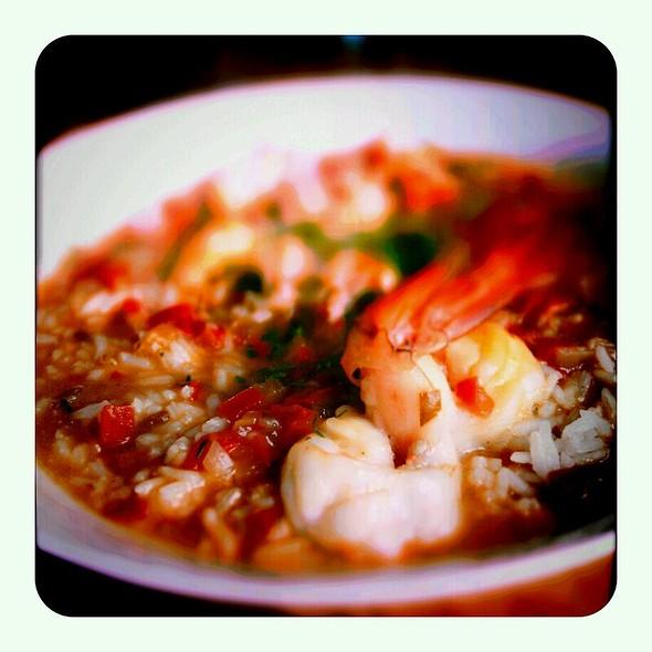 Shrimp étouffée @ The Parish