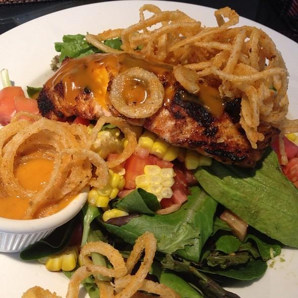 BBQ Salmon Salad @ Mustard Seed Bistro & Market