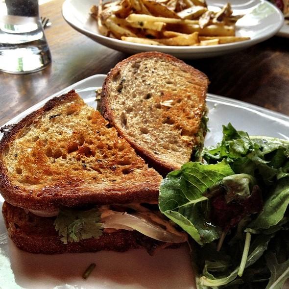 Chipotle Grilled Sandwich @ Plum Bistro