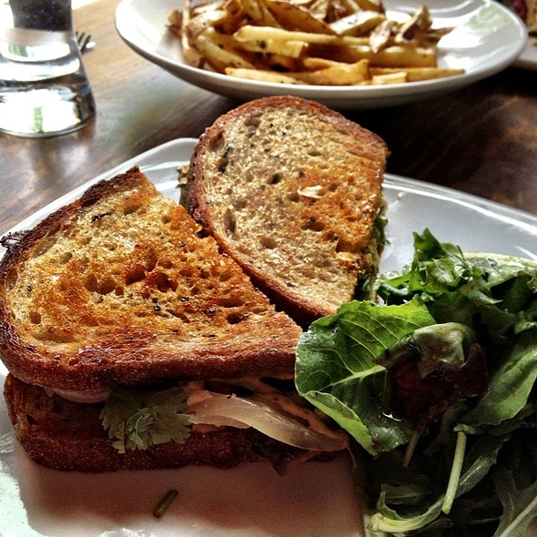 Chipotle Grilled Sandwich @ Plum Bistro