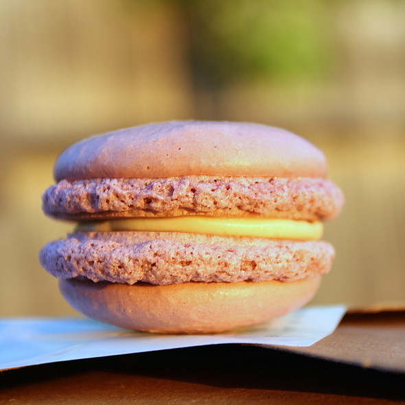 Peanut Butter And Jelly Macaron @ Estelle's Patisserie