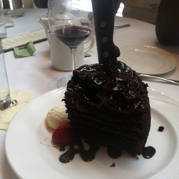 7 Layer Dark Chocolate Cake @ Palm Restaurant: Tribeca