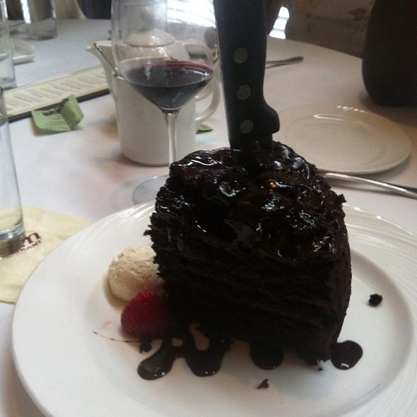 7 Layer Dark Chocolate Cake @ Palm Restaurant: Tribeca