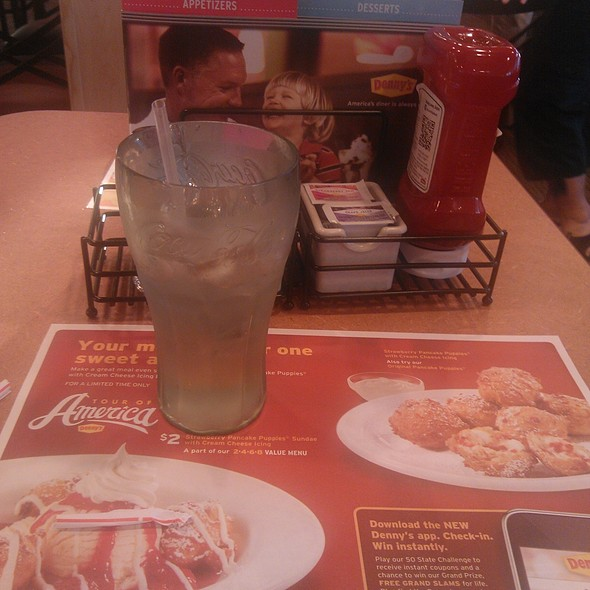 Water @ Denny's