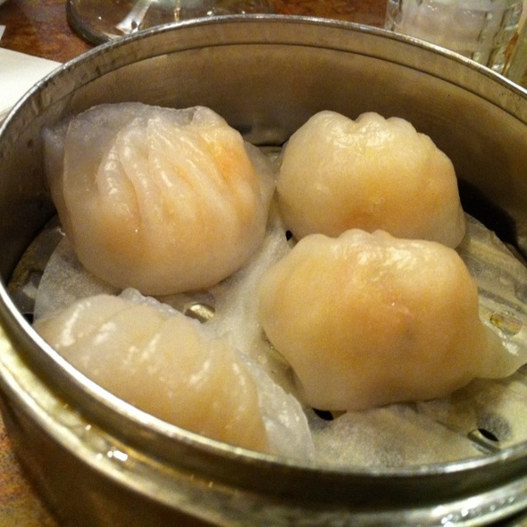 Crystal Shrimp Dumplings @ New Fortune