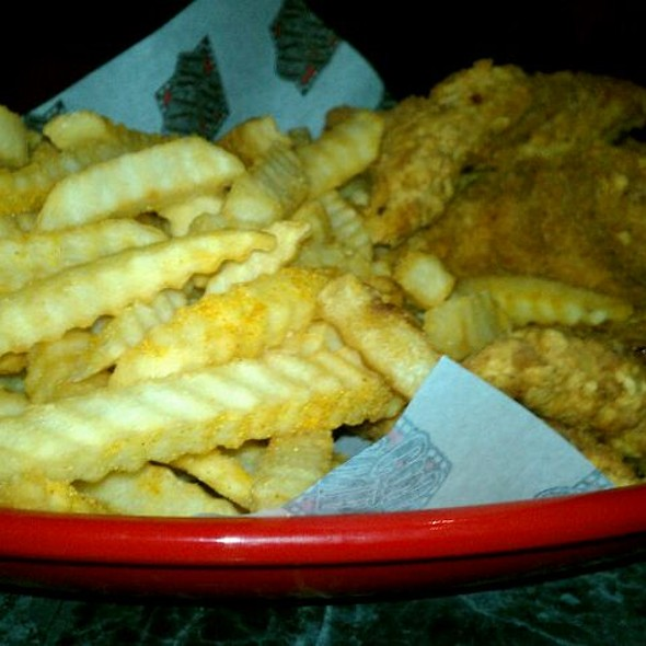 Chicken Tenders & Fries @ Cinema Cafe Movie Theater- Kemps River