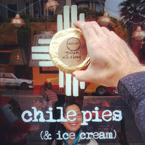 land of milk and honey ice cream sandwich @ Chile Pies & Ice Cream