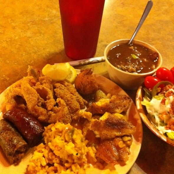 Cajun Buffet @ The Cajun Eatery