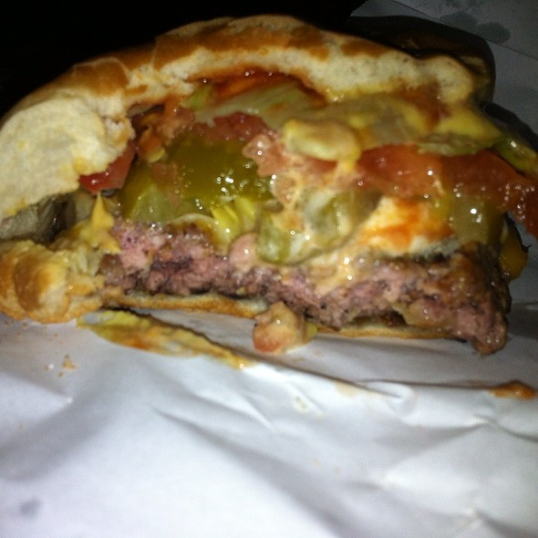 Cheeseburger with the Works @ Burger Joint at Le Parker Meridian