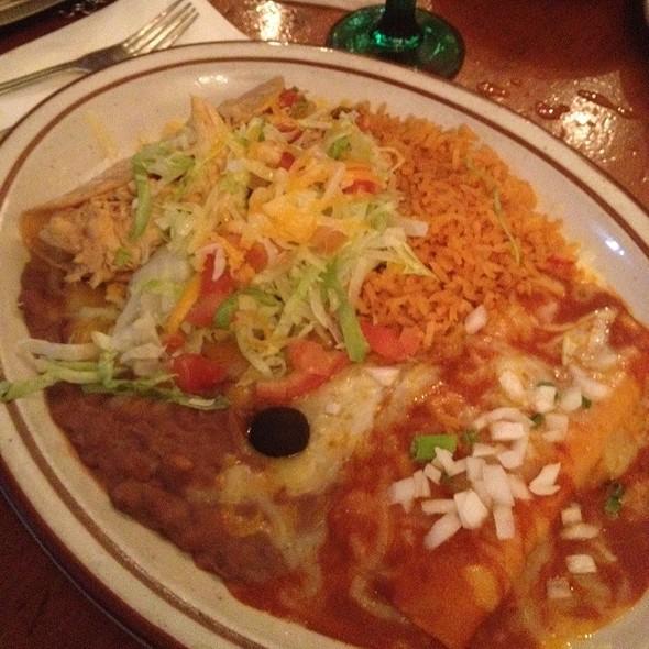 Chicken Soft Taco Y Enchilada - Mijares Mexican Restaurant, Pasadena, CA