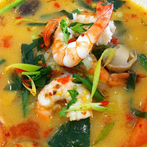Tom Yum Soup Noodles