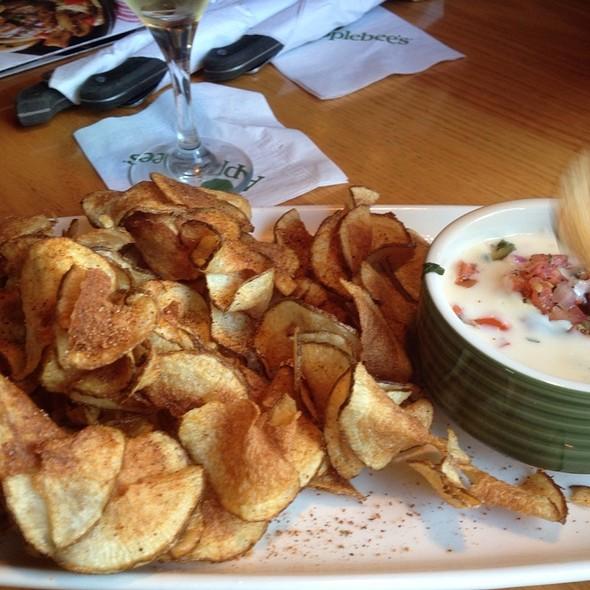 Potato Twisters With Queso Blanco @ Applebee's