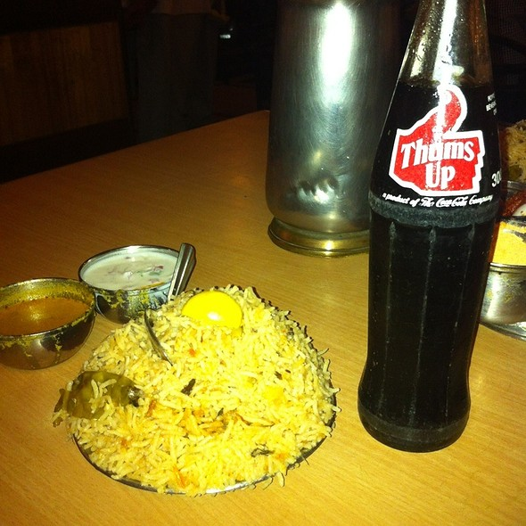 Chicken Biryani - Andhra Style @ Nagarjuna