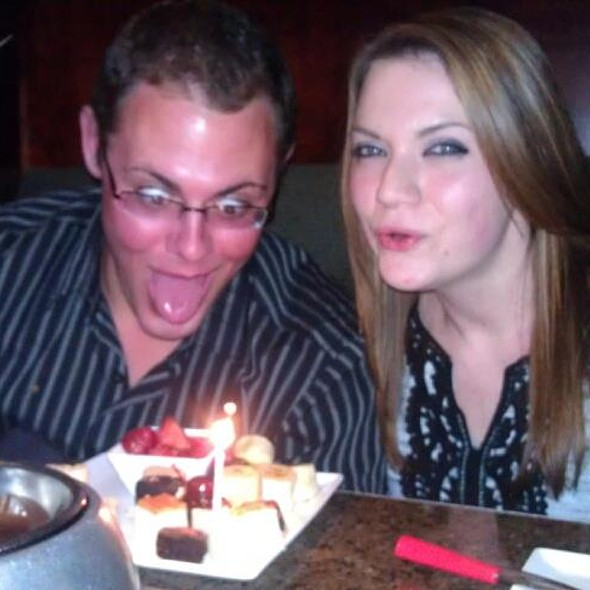 Decadent Cheesecake Fondue For Two @ The Melting Pot