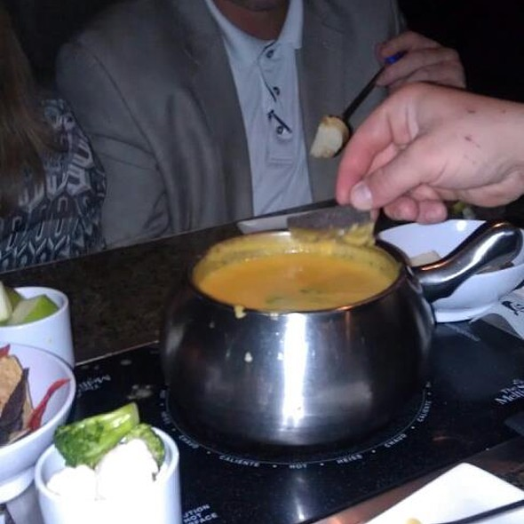 Cheese Fondue @ The Melting Pot