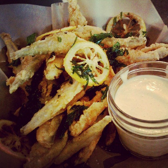 Fried Smelts @ One Eared Stag