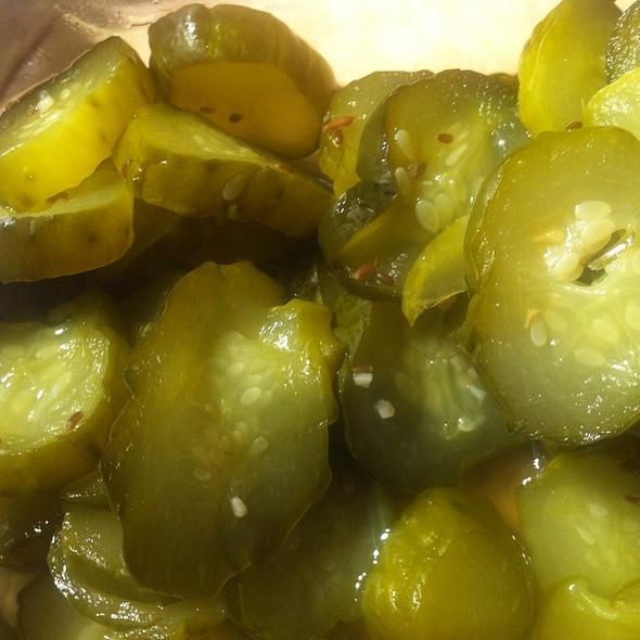 Dill Pickles @ Jam & Relish Kitchen