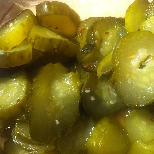 Dill Pickles @ Jam & Relish Kitchen