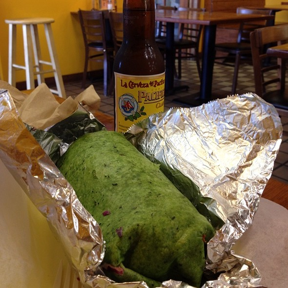 The Big Fish Burrito @ Pescados