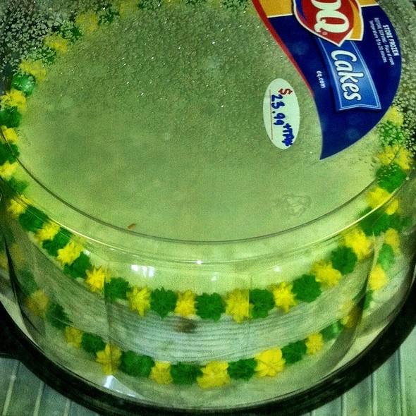 Ice Cream Cake @ Dairy Queen