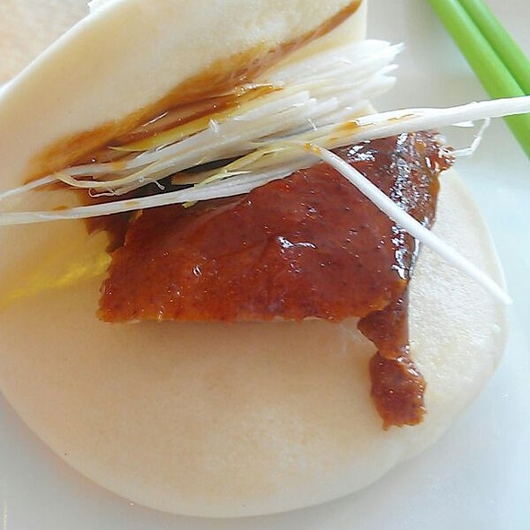 Roasted Peking Duck wrapped with Steamed Bun @ Golden City Restaurant
