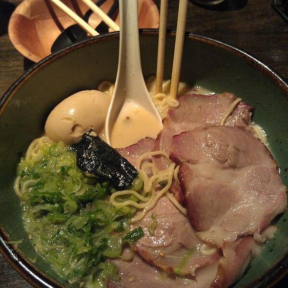 Extra BBQ Pork Tonkotsu Ramen @ Tajima Japanese Restaurant