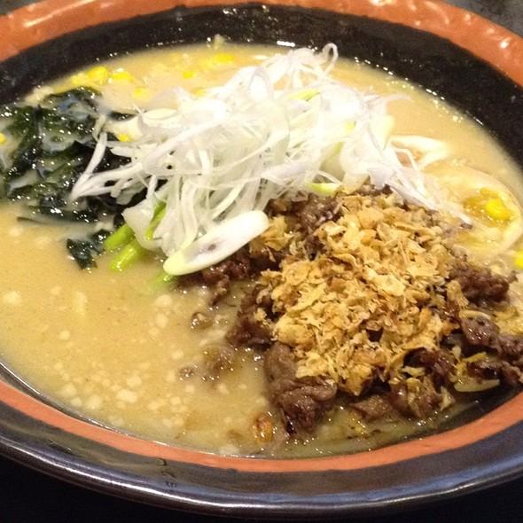 Garlic Wagyu Beef Ramen @ Wakayama Japanese Restaurant