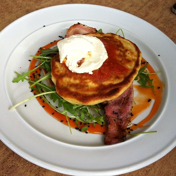 Sweetcorn Fritters @ Verve Cafe