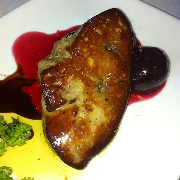 Pan Seared Foie Gras - The Little Door, Los Angeles, CA
