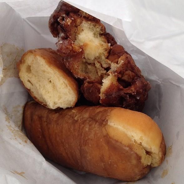 Apple Fritter & Maple Buttemilk Donut @ Bob's Donut & Pastry Shop