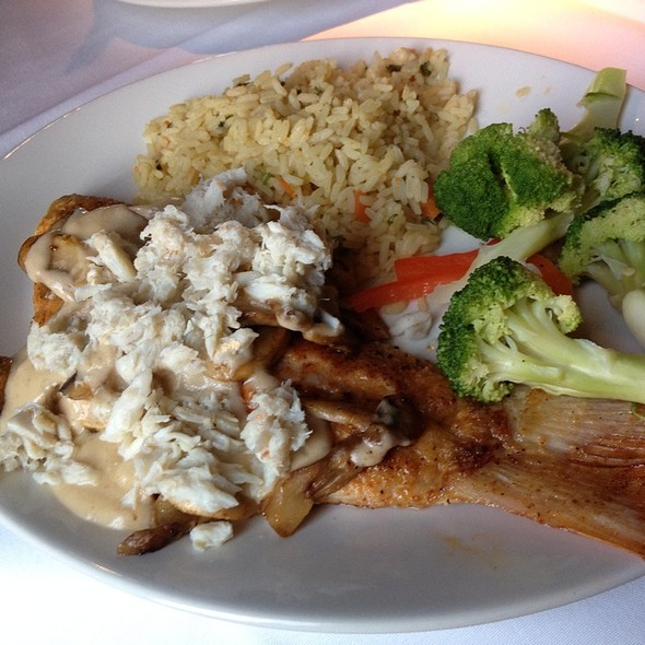 Red Snapper Ponchartrain  - Landry's Seafood House - The Woodlands, The Woodlands, TX
