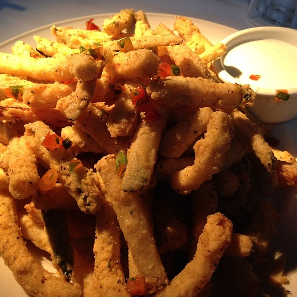 Fried Zucchini @ Landry's Seafood House