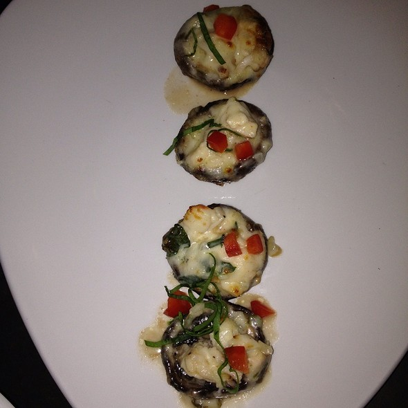 Portobellos Stuffed W/ Lobster