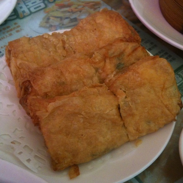 鮮蝦腐皮卷 @ 唐人街茶餐廳