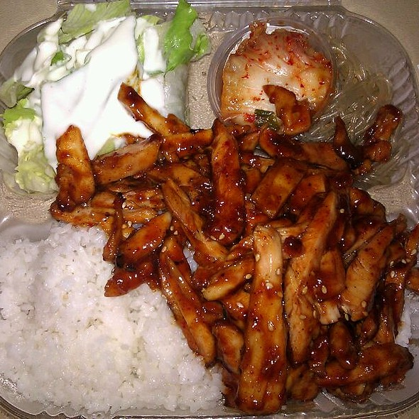 Spicy Chicken @ Food Carts