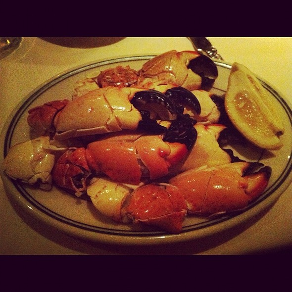 Stone Crab Claws @ Joe's Seafood, Prime Steak & Stone Crab - Las Vega