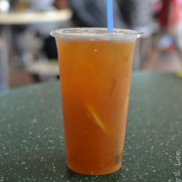 Iced Lemon Tea @ Bedok Interchange Hawker Centre