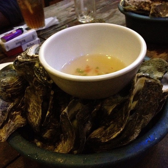 Steamed Oysters @ Griller's Oyster House