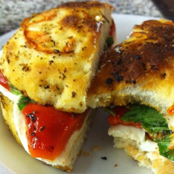 4 Inch Focaccia Sandwich @ Capri Deli & Pizza - In Palatine