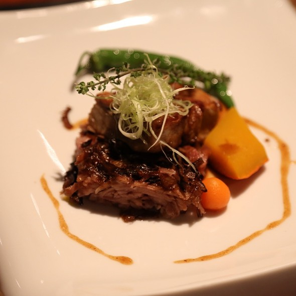 """Stylishness"": Fried Lamb Chop With Taro Cake @ 麟Linkの手創料理"