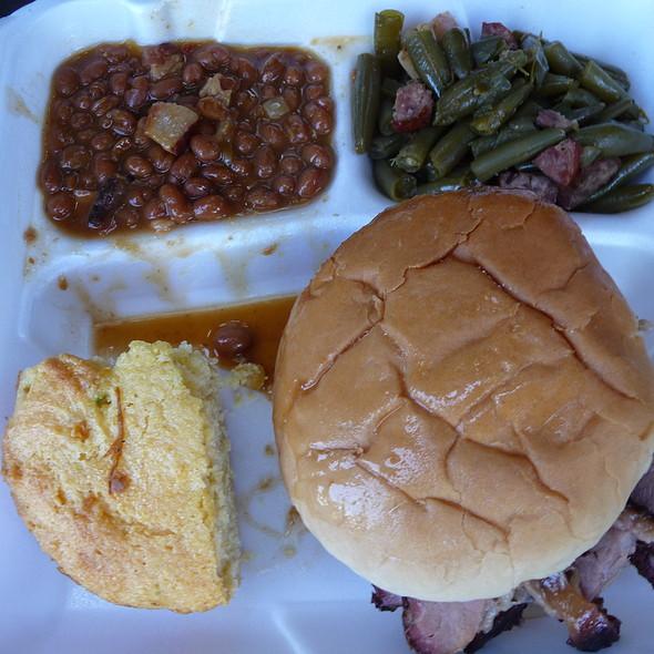 BBQ Beef Brisket Sandwich @ Dr. Frank 'n' Swine BBQ