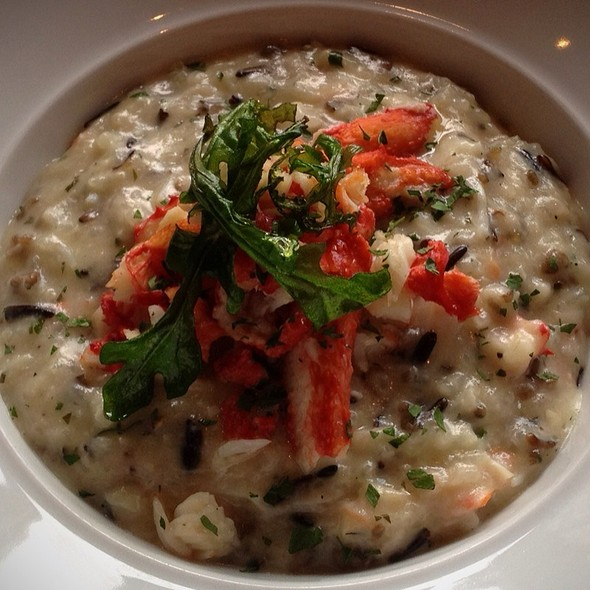 Wild Rice Risotto With King Crab @ Eight K